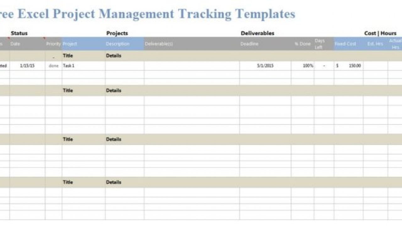 Keep your project on track using this accessible product issue tracking template. Download Excel Project Management Tracking Templates Exceltemple