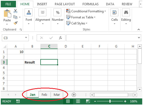 Sum Across Multiple Sheets In Microsoft Excel