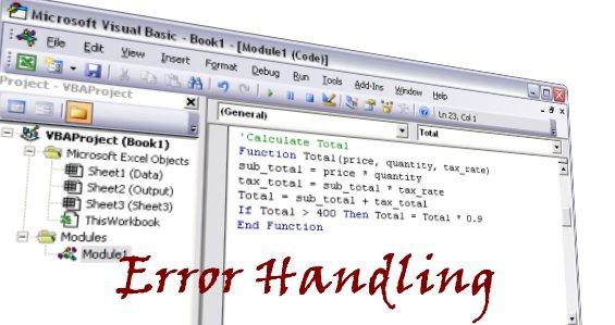 vba on error statement  u2013 handling errors in excel macros