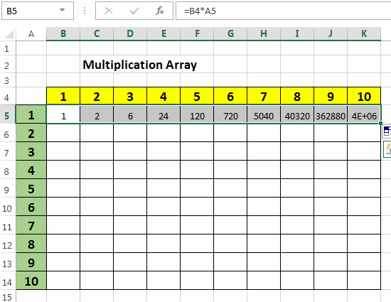 Excel relative and absolute references explained absolute reference example with wrong results thecheapjerseys Images