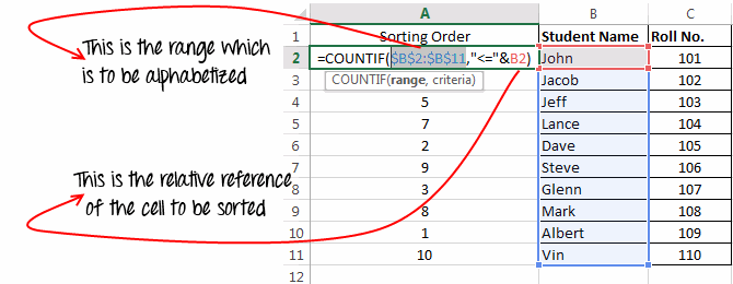 Alphabetize-data-using-excel-formulas-8