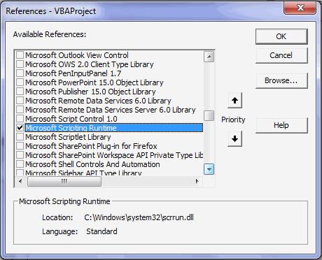 dissatation scripting filesystemobject on error resume next