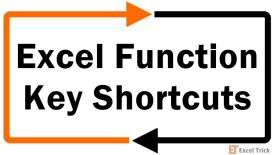 Excel Function-Key Shortcuts