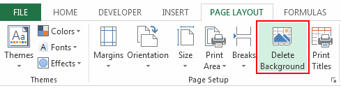 Delete-background-Excel-2013