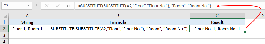 Excel-SUBSTITUTE-function-Example-05