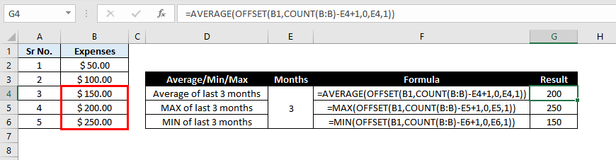Offset-Function-In-Excel-Example-07