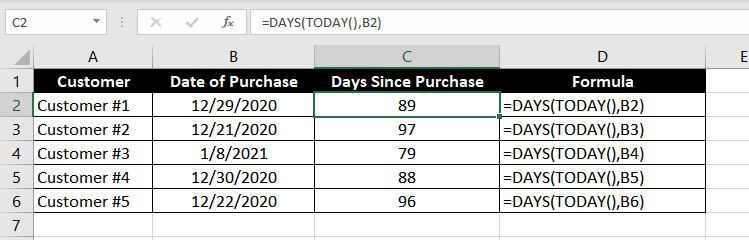 DAYS_Function_Excel_003