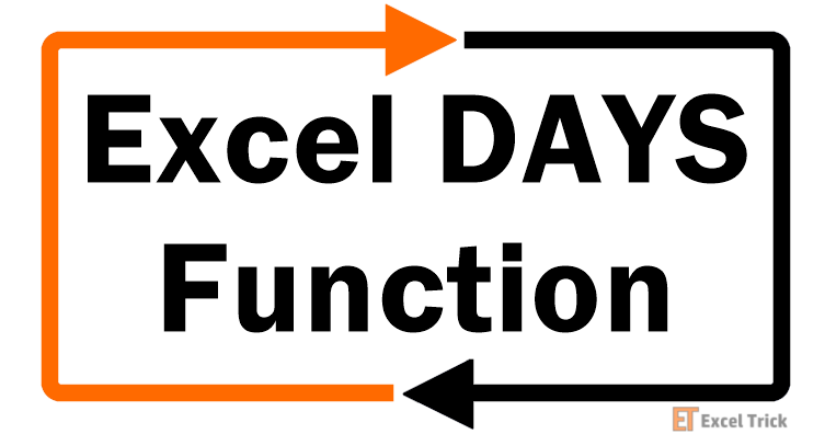 Excel DAYS-Function