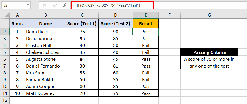Excel-OR-Function-Example-2