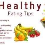 Sensible diet tips