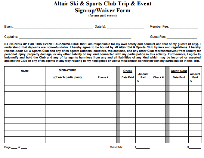 Sports Sign Up Sheet Template404  Event Sign In Sheet Template