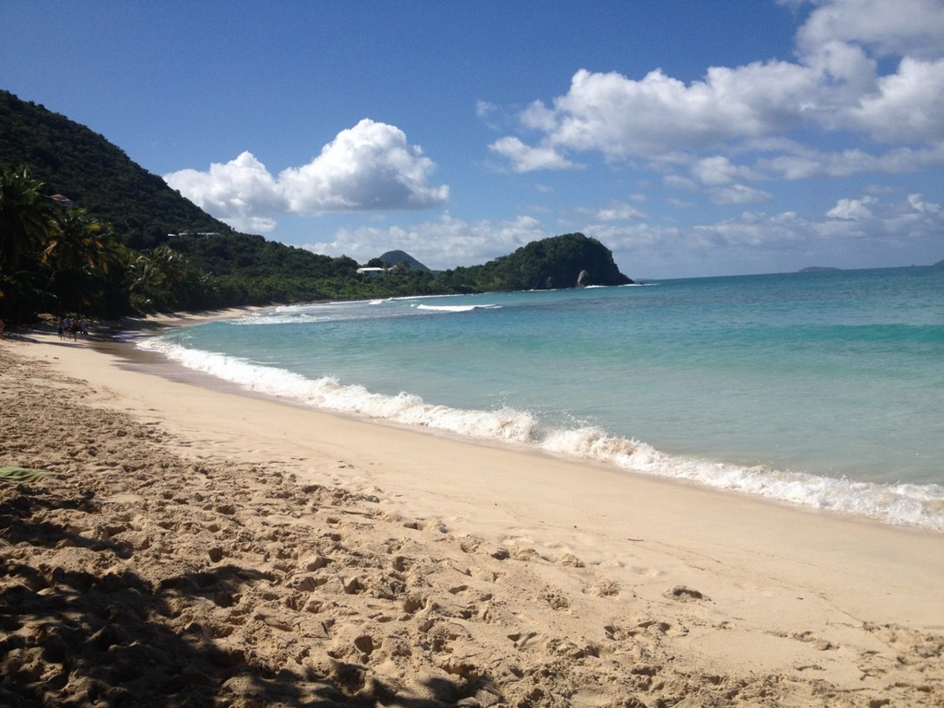 Beach Smugglers Tortola Cove Location
