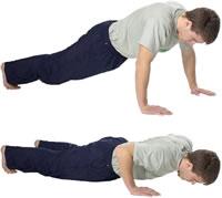 Flexiones de brazo mas faciles