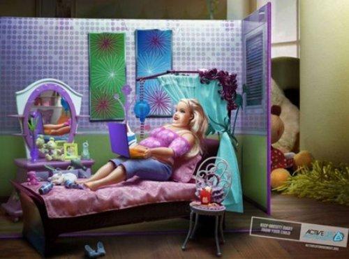 Afiches sobre la obesidad 08