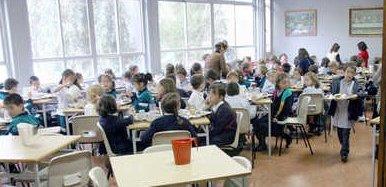 Contra los alimentos hipercalóricos en los colegios