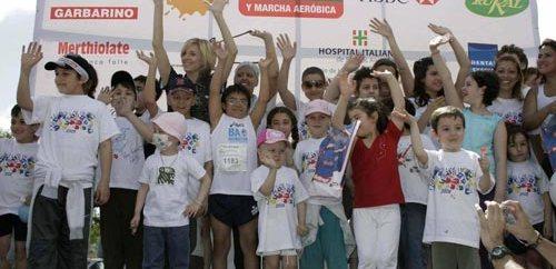 """Marcha Aeróbica """"Por los derechos del niño curado de cáncer"""""""