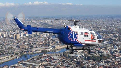 Helicópteros para Emergencias en la Ciudad