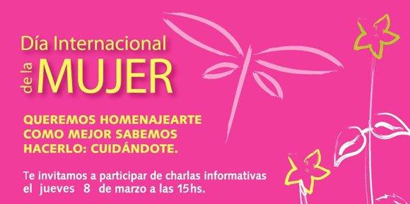 Actividades gratuitas para todas en el Hospital Italiano por el día de la mujer