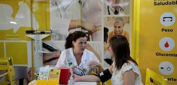 control salud  Controles gratuitos de salud en el subte