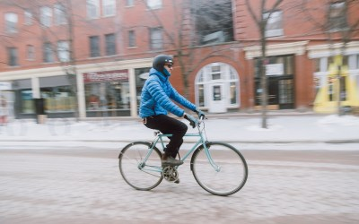 Get back on your bike this winter