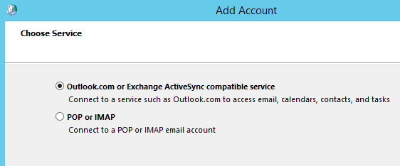 Outlook 2016 missed exchange