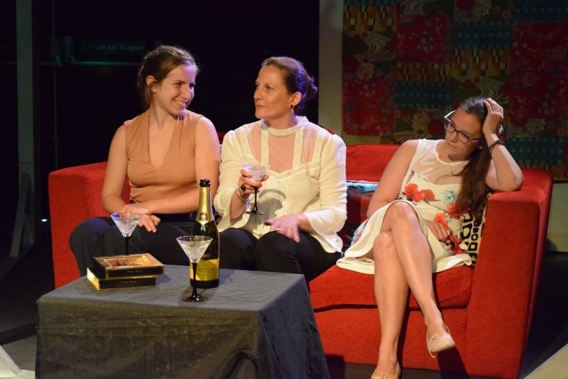 extrait spectacle théâtre les femmes savantes le workshop