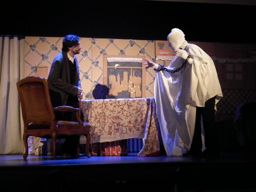 extrait pièce de théâtre scrouge fantôme david furlong