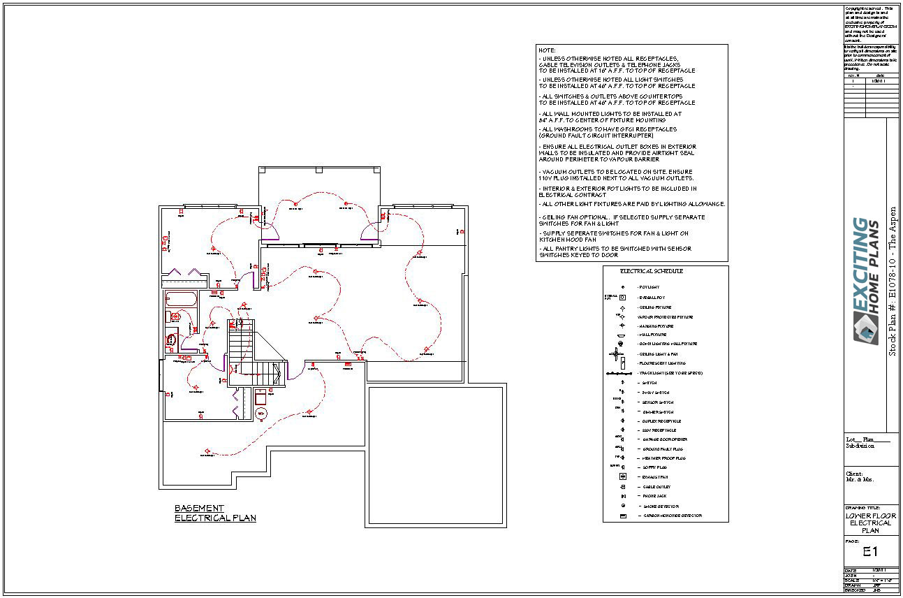 Exciting Home Plans Order Information