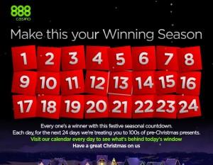 888 Advent Calendar
