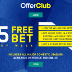 William Hill Offer Club – Get £5 Free EVERY week (New & Existing Customers)