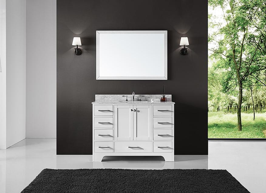 exclusive heritage clariette 48″ single sink bathroom vanity in