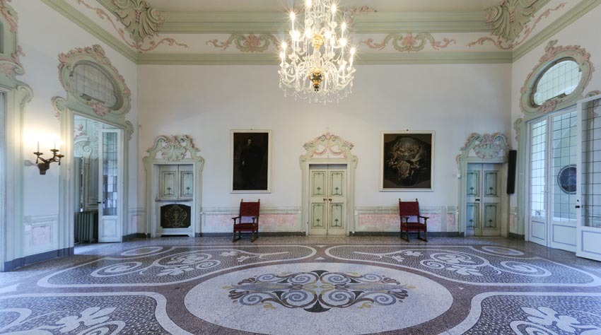 Interior of Villa Durazzo