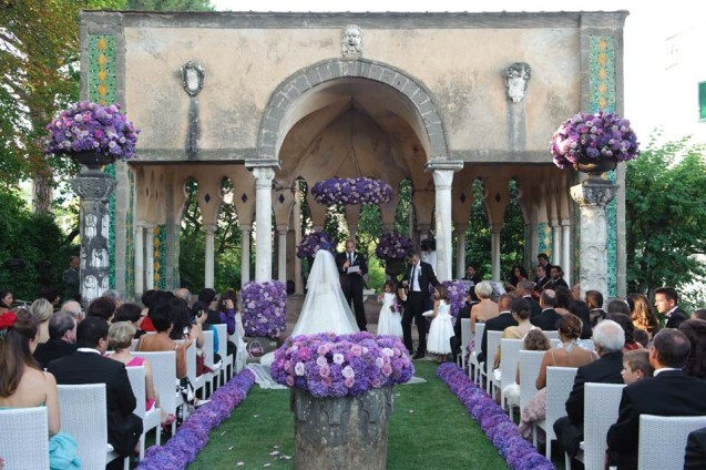 Ceremony in Ravello