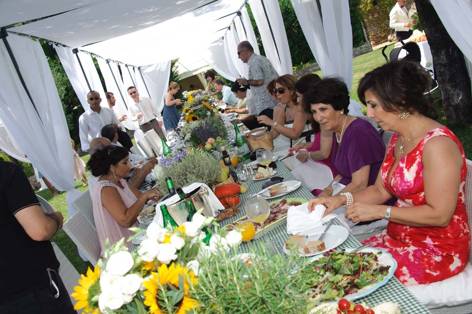 Welcome lunch in Ravello