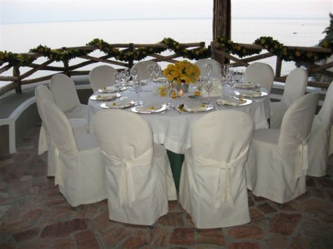 Dinner at S. Caterina, Amalfi