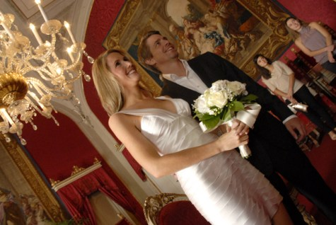 Civil wedding ceremony in Florence