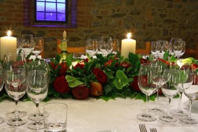 Table decors details