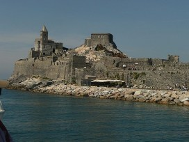 Medieval Fortress in Portovenere (Italian Riviera) for outdoor wedding ceremonies