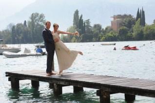 Photo session on the shores of Lake Garda