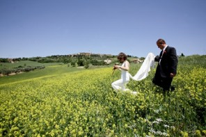 Photo session in the Tuscan countryside