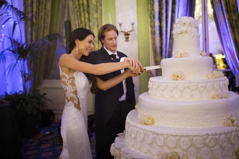 Wedding Cake for Lake Como Reception