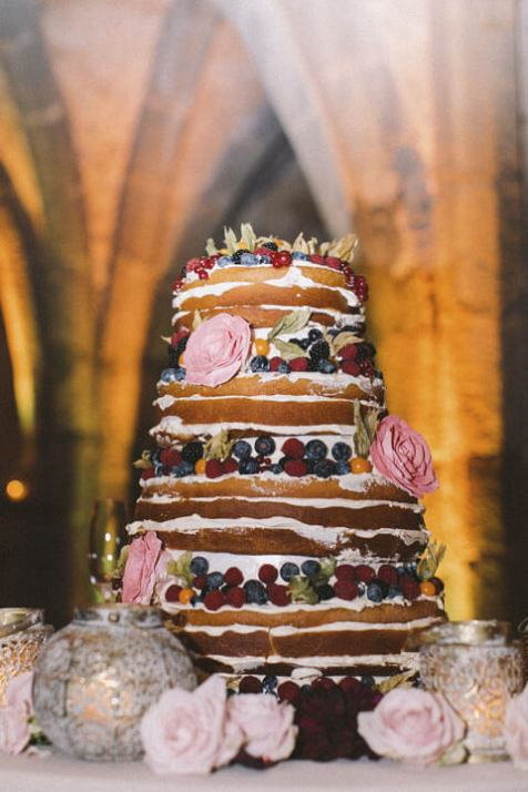 Wedding Cake for Amalfi Coast Reception