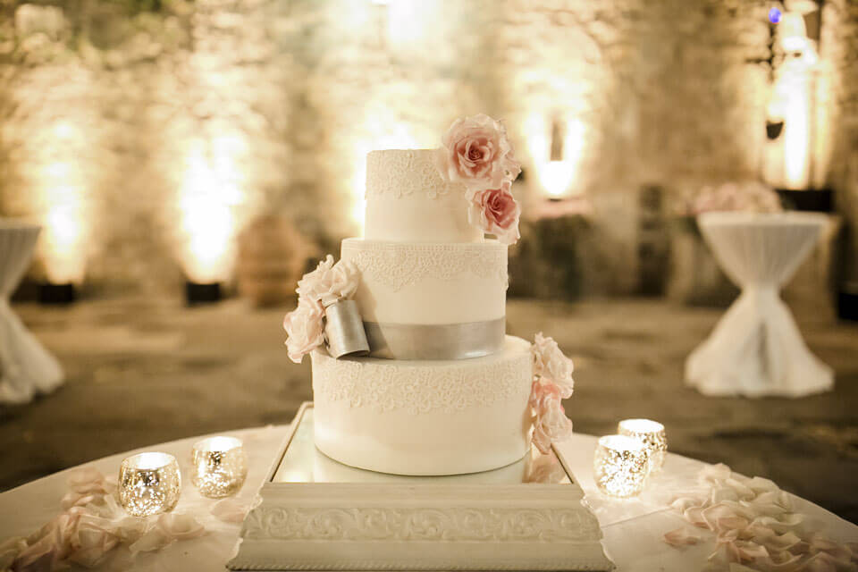 Wedding Cake for Castle Wedding