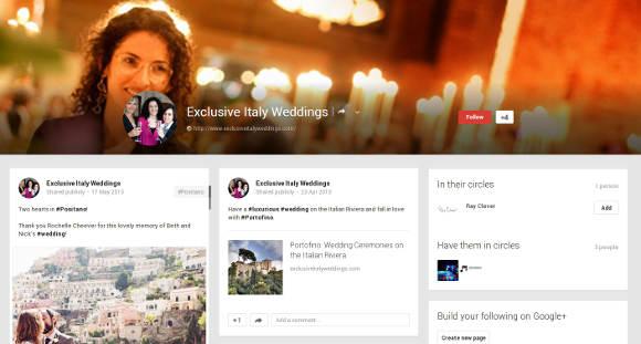 Exclusive Italy Google Plus