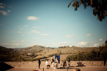 Outdoor Civil Ceremony in Tuscany