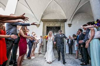 Catholic Wedding Ceremony in Florence