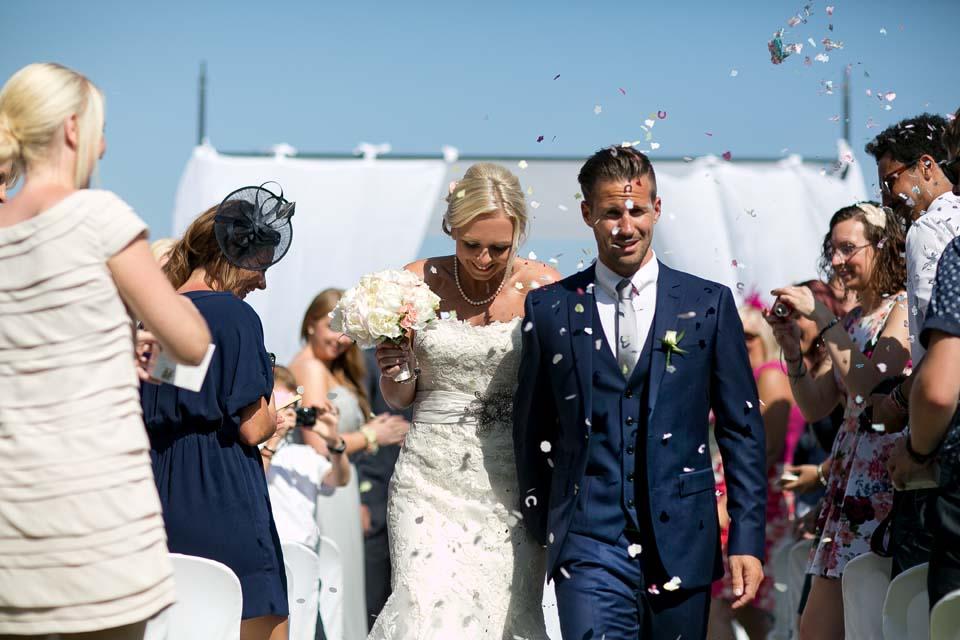 Civil ceremony in Ravello