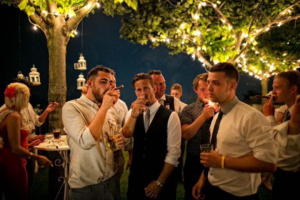 After party at Villa Eva Ravello
