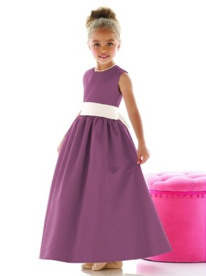 flower girl radiant orchid