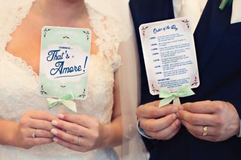 Fifties style wedding on the Amalfi Coast - Schedule